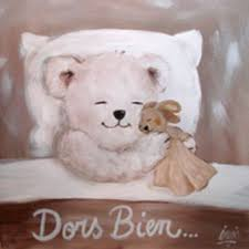 tableau ourson chambre bébé cadre chambre bebe nounours visuel 7