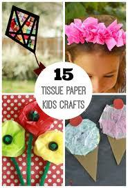 15 Tissue Paper Crafts for Kids