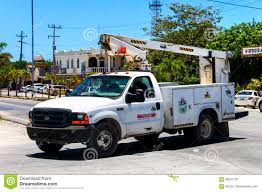 100 Truck Mounted Boom Lift Ford F350 Editorial Photography Image Of Carrier Light