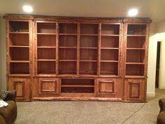 Rustic Style Entertainment Center We Made For A Customer