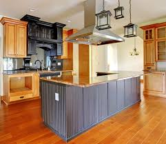 Upscale Custom Kitchen Island With Built In Oven Area