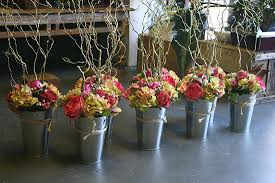Rustic Silk Flower Arrangements