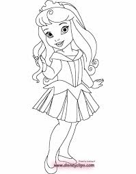 Baby Disney Princess Coloring Pages Printable Photos Of Snazzy Drawn 7 To Print Pictures Princesses