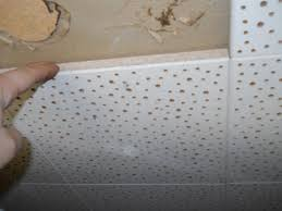 asbestos ceiling tile identification l shaped and ceiling
