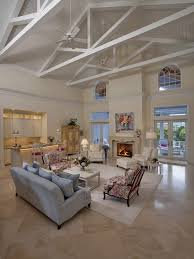 Neutral Colors For A Living Room by Gorgeous Tropical Living Room In Neutral Colors With High Ceilings