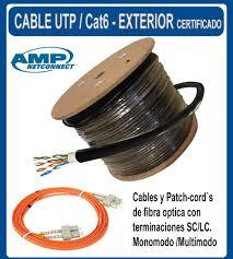 Cable Utp Exterior Amp Redes en Mercado Libre Argentina