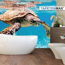 fototapete schildkröte im meer fototapete fototapete