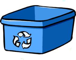 Recycle Bin Blue Clip Art at Clker vector clip art online