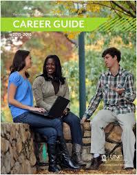 Unc It Help Desk Email by Unc Ucs Career Guide 2015 2016 By Unc Chapel Hill University