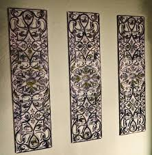 Cast Iron Wall Art Delectable Medallion Wrought Decor Embossed Inspiration