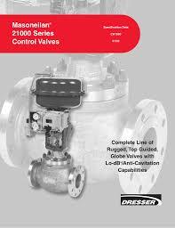 masoneilan 21000 series control valves
