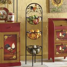 3 Basket Rooster Rack From Through The Country DoorR