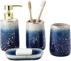 سوء استخدام الحاجز المرجاني العظيم قطب كهربائي seifenspender set keramik