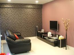 Paint Colors For A Dark Living Room by Decoration Ideas Beautiful Black Leather Sofa And Black Wooden Tv