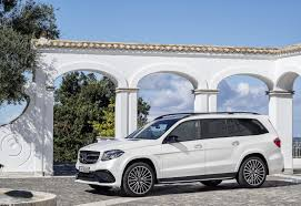 Suvs With Captain Chairs Second Row by Mercedes Turns Gl Into 2017 Gls Says It U0027s The U201cs Class Of Suvs