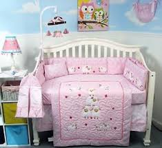 Pink Crib Bedding by Sheep Crib Bedding Ebay