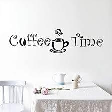 wandaufkleber schlafzimmer kaffee zeit cafe wandaufkleber
