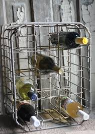 Old Wire Milk Crate As Wine Liquor Bottle Holder Would Also Make A Great
