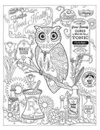 Creative Haven Owls Colouring Book By Marjorie Sarnat Pharmacy