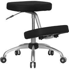 ergonomic kneeling posture office chair black walmart com