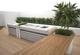 Ultra Modern Outdoor Garden Kitchen Design Image 4