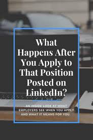 What Happens After You Apply To That Position Posted On ... Everything You Need To Know About Using Linkedin Easy Apply Resume Icons Logos Symbols 100 Download For Free How Design Your Own Resume Ux Collective Do You Post A On Lkedin Summary For Upload On Profile Your Flexjobs Profile Why It Matters Add Iphone Or Ipad 8 Steps Remove This Information From What Happens After That Position Posted Should I Write My Cv And In The First Home Executive Services Secretary Sample Monstercom