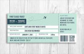 Boarding Pass Wedding Invitation Template Sample 9 Documents In Pdf Psd Vector Ideas