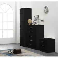 3 tlg schlafzimmermöbel set tomaszewski clearambient farbe hochglanz schwarz schwarze eiche