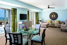 Pier One Round Dining Room Table by Opal And Sapphire Residential Suite The Ritz Carlton Grand Cayman