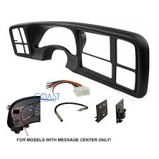 100 Radio For Trucks Details About Car Stereo 2 Din Dash Kit Harness For 199902 GM Fullsize SUVs
