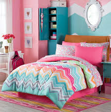 Monster High Twin Bed Set by Amazon Com Happy Chevron Twin Comforter Sham Sheets Bedskirt