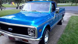 100 1971 Chevrolet Truck Chevy 327 Engine YouTube