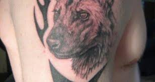 Wild Dog Head Tattoo Tribal African Tattoos