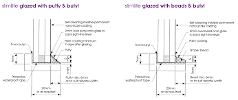 Bed It Butyl Tape by Glazing Method Slimlite Glass Ultra Thin Replacement Double