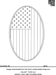 Free Printable American Flag Coloring Sheets Page Pdf Book Full Size