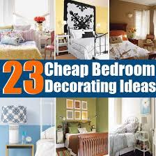 Bedroom Wall Decor Ideas Diy Cheap Decorating