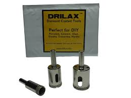 Cutting Glass Bottles With Wet Tile Saw by Drilax 3 Pcs Diamond Drill Bit Set 1 2