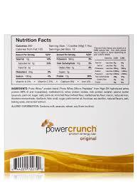 Power Crunch Original Protein Energy Bar Peanut Er Creme Box Of 12 Wafer Bars