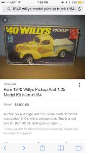 Original 1940 Willys Pickup Street Rod T184 - General - Model Cars ...