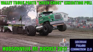 100 Valley Truck Parts VALLEY TRUCK PARTS GREEN GHOST EXHIBITION PULL HUDSONVILLE MI