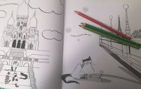 Cats In Paris Coloring Book Review