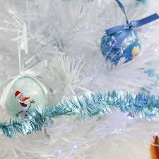 Fibre Optic Christmas Trees Uk by 60cm Frozen White Fibre Optic Christmas Tree