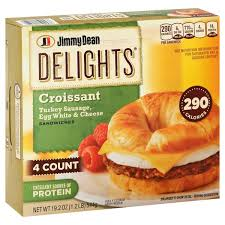 Jimmy Dean Delights Croissant Sandwiches Turkey Sausage Egg White Cheese