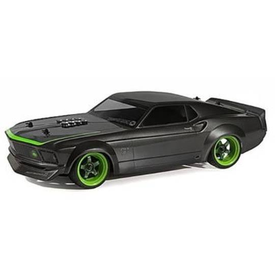 HPI Racing 69 Ford Mustang Brushed RC Model Car - Electric Road Version, 4WD RtR, 2.4 GHz