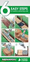 6 Inch Drain Tile Menards by How To Build A Retaining Wall Stronger Retaining Walls How To
