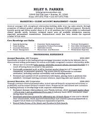 Alluring Sample Resume For Executive Mba Your Account Manager Shows Professionalism In