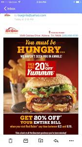 Red Robin Coupon 2018 / Kohls 30 Percent Off Code Huckberry Shoes Coupon Subway Promo Coupons Walgreens Photo Code December 2019 Burger King Coupons Savings Deals Promo Codes Save Burgers Foodpanda July 01 New Promo Here Got Sale Singapore Miami Subs 2018 Crocs Canada Details About Expire 912019 Daily Deals Uber Eats Offers 70 Off Oct 0910 The Foodkick In A Nyc Subway Ad Looks Like Its 47abc Ding Book Swap Lease Discount Online Actual Discounts Dominos Coupon Blog Zoes Kitchen June Planet Rock