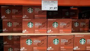 Starbucks House Blend Medium Roast 72 Count K Cup Pods 1888755