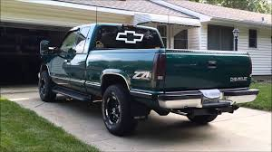 100 1998 Chevy Truck Chevrolet Silverado K1500 Overview YouTube
