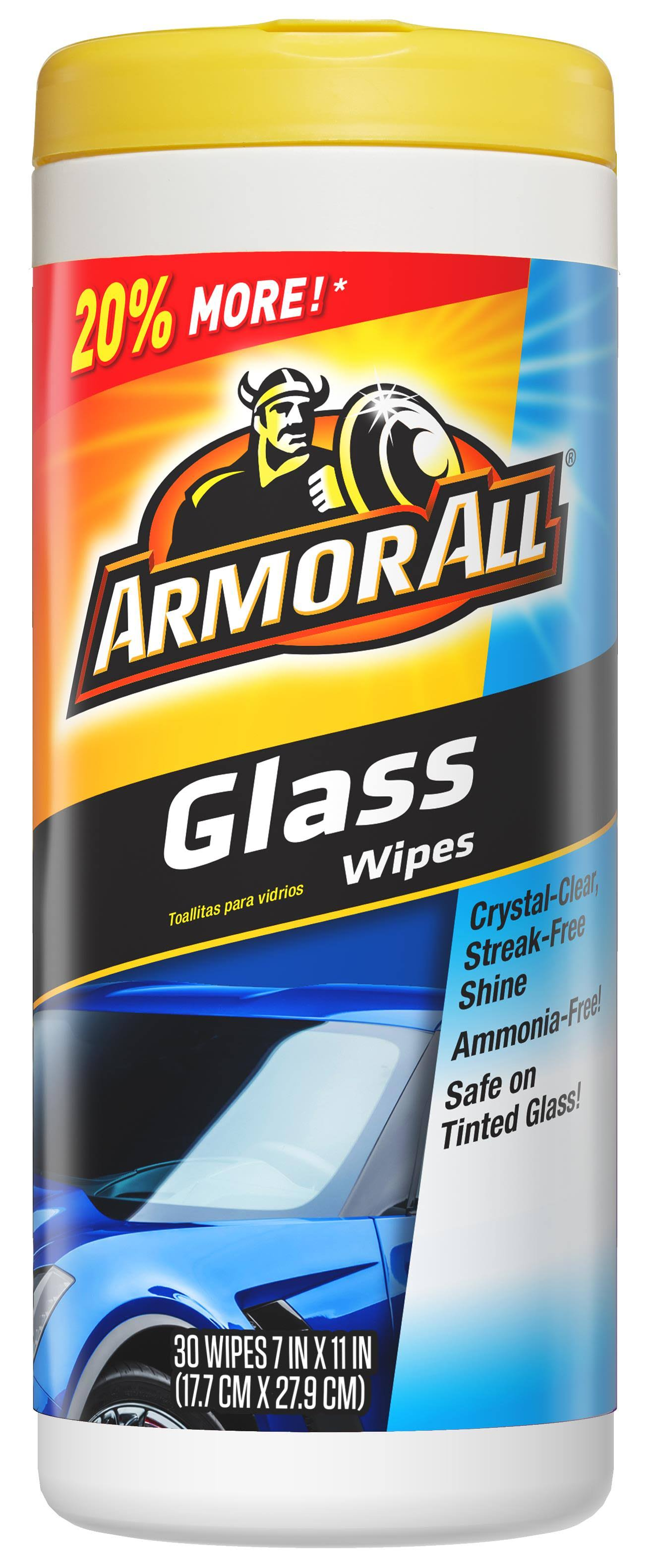 Armor All Glass Cleaning Wipes - 30ct